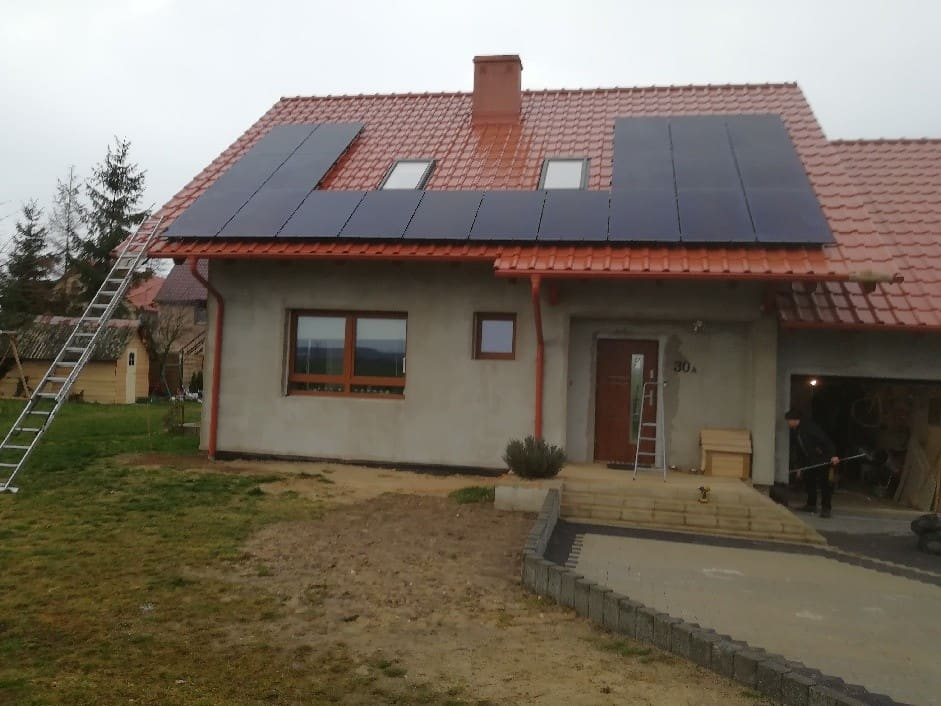 Instalacja 6.08 kWp